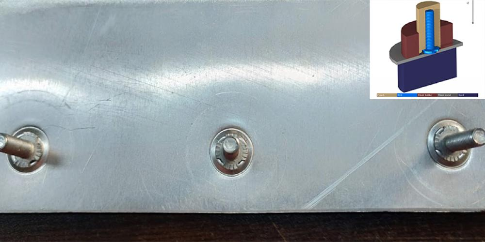 Installation a Fastener in Sheet Metals Without Preliminary Process
