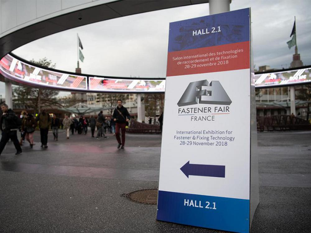 LAUNCH OF NEW AEROSPACE AREA AT FASTENER FAIR FRANCE