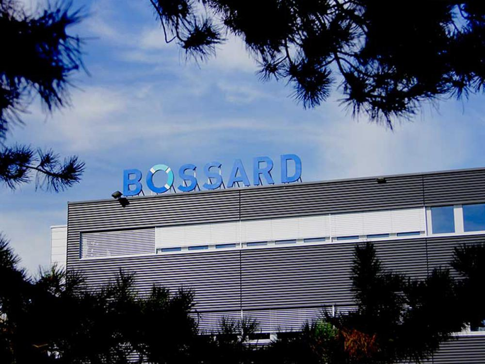 Bossard, sales third quarter 2019