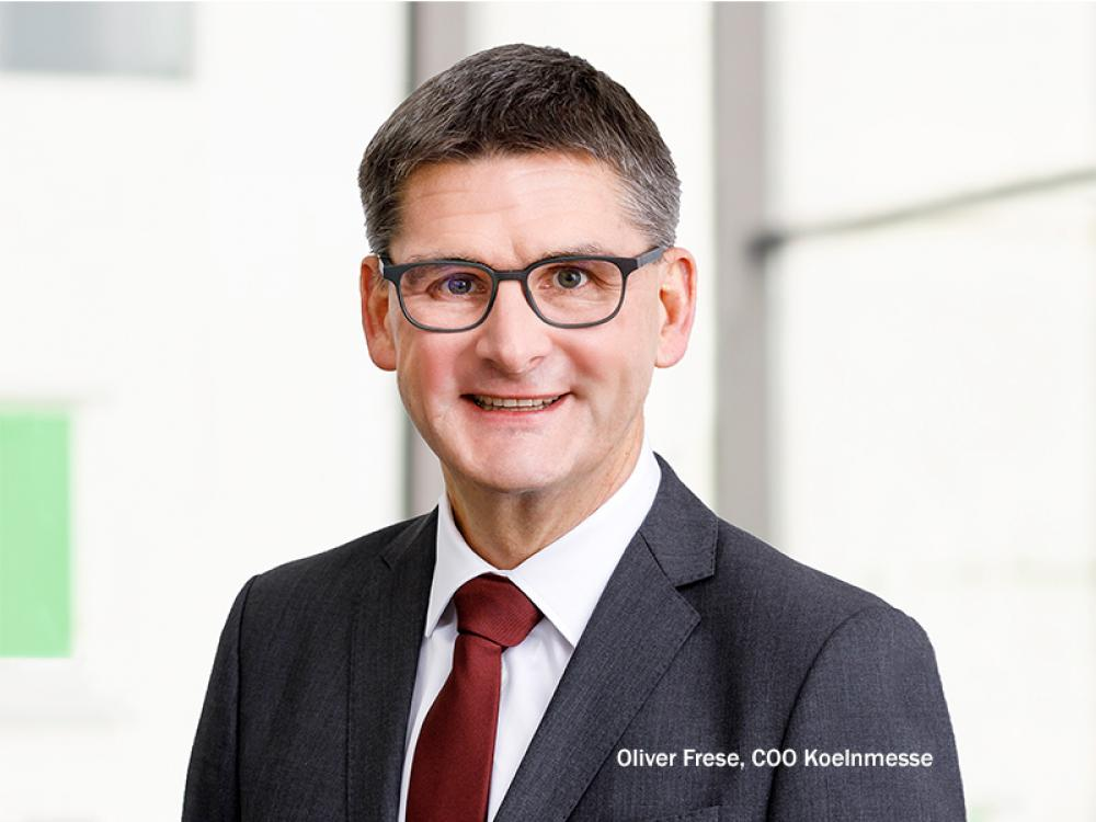 Oliver Frese named Chief Operating Officer of Koelnmesse