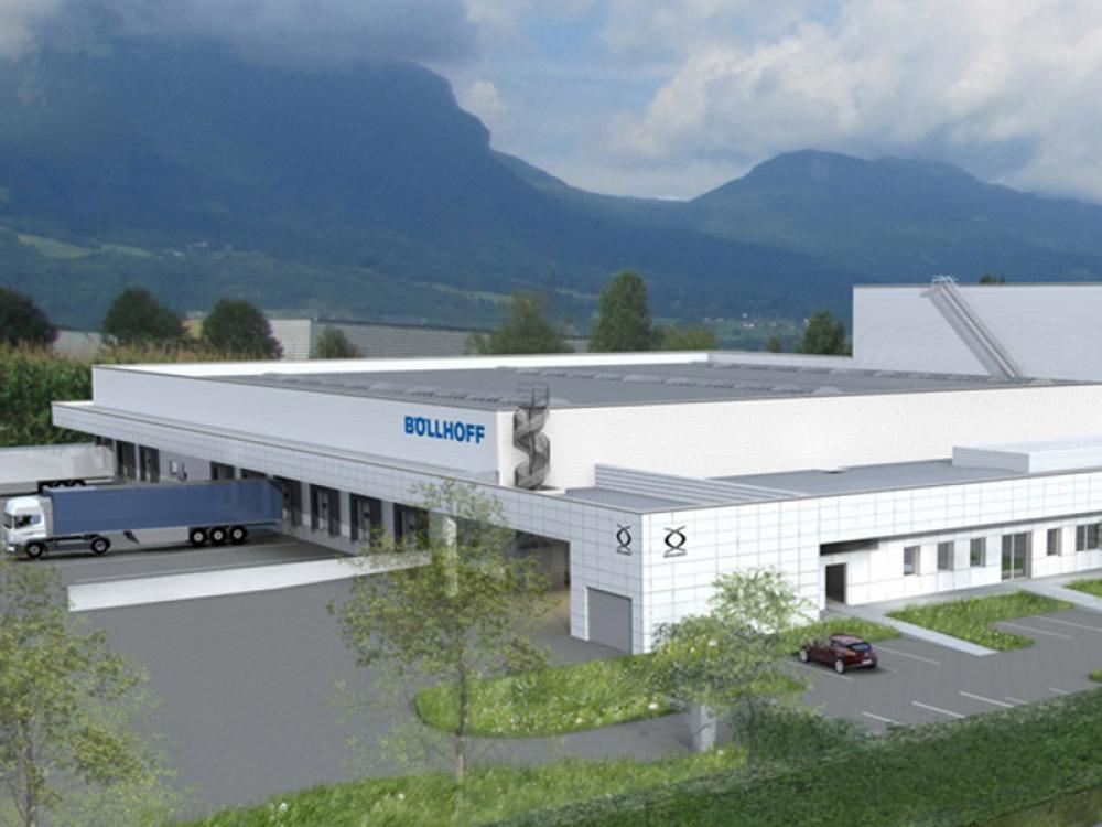 New logistics centre opened in France