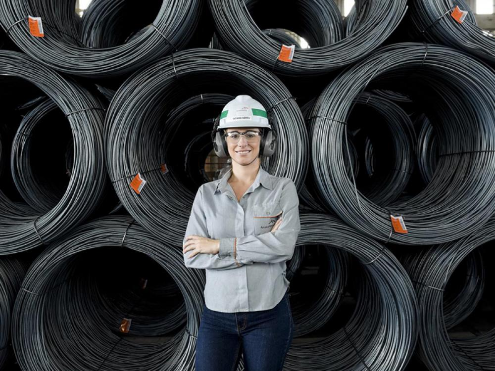 The first woman as ArcelorMittal business director