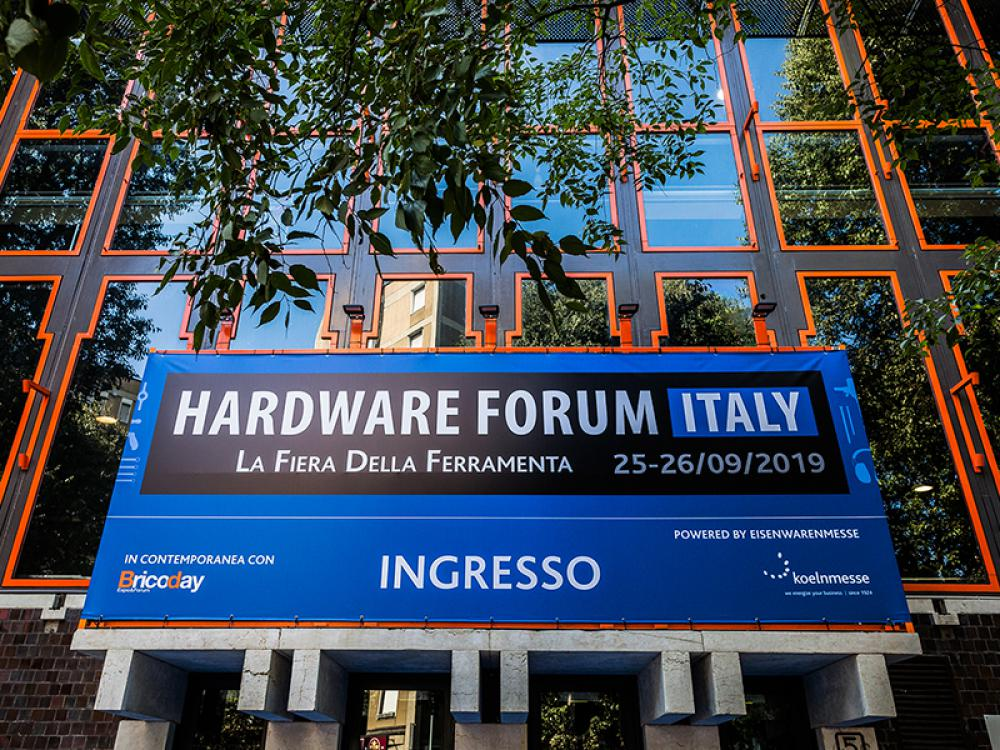 HARDWARE FORUM ITALY, THE ITALIAN HARDWARE SHOW KEEPS GROWING