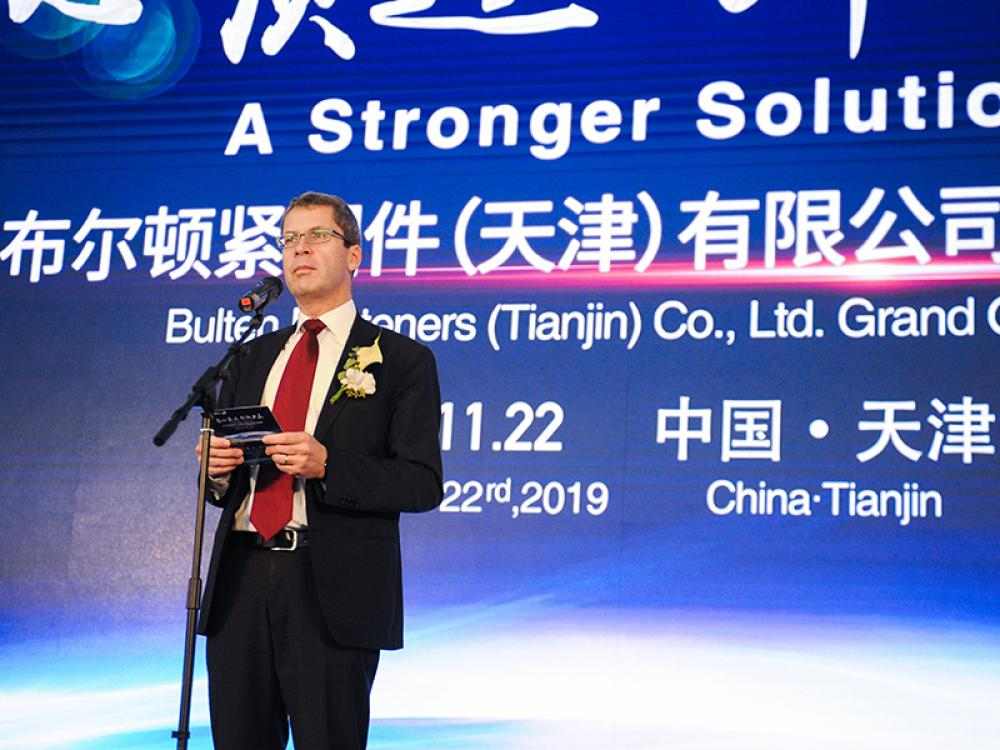 Bulten inaugurates new factory in Tianjin and strengthens its platform in China